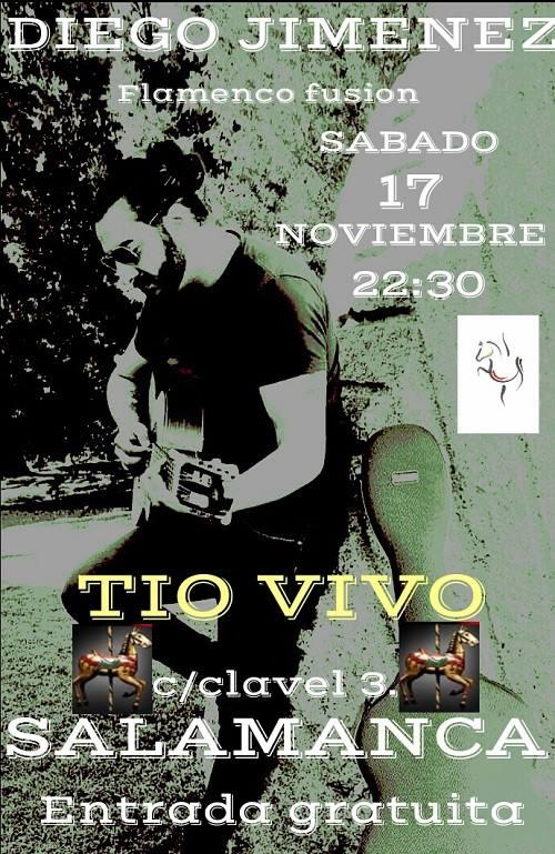 Tío Vivo Diego Jiménez Salamanca Noviembre 2018