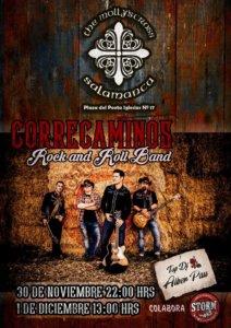 The Molly's Cross Correcaminos Rock&Roll Band Salamanca Noviembre diciembre 2018