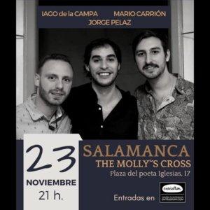 The Molly's Cross Iago de la Campa + Jorge Pelaz + Mario Carrión Salamanca Noviembre 2018