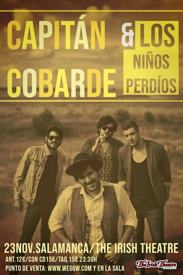 The Irish Theatre Capitán Cobarde y Los Niños Perdidos Salamanca Noviembre 2018