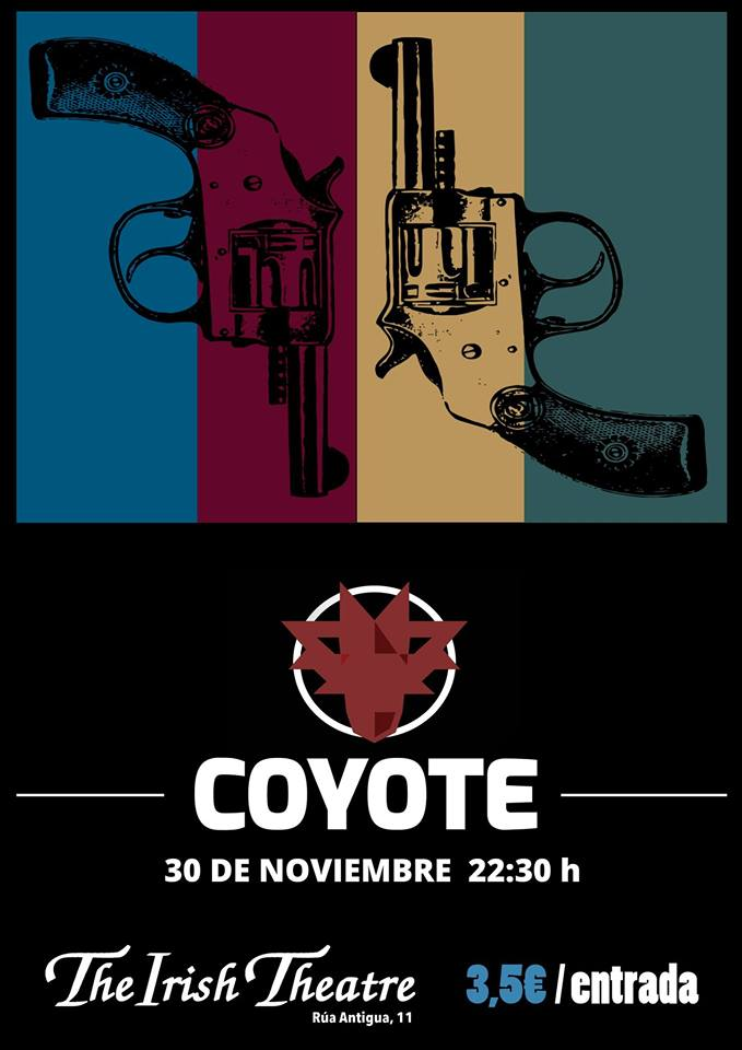 The Irish Theatre Coyote Salamanca Noviembre 2018