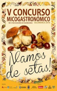 Salamanca V Concurso Micogastronómico Noviembre diciembre 2018
