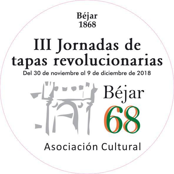 Béjar III Jornadas de Tapas Revolucionarias Noviembre diciembre 2018