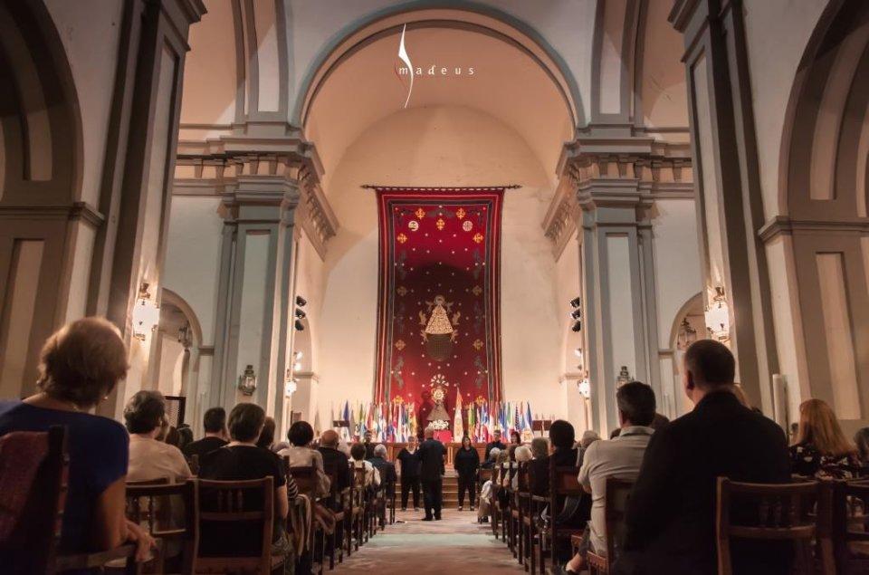 Catedral Vieja Coro de Cámara Amadeus de Puebla de la Calzada Salamanca Noviembre 2018