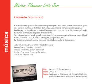 Torrente Ballester Caramelo Salamanca Noviembre 2018