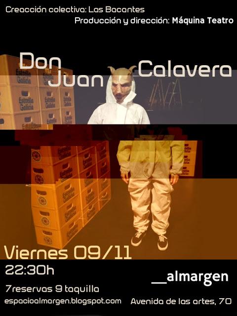 Espacio Almargen Don Juan Calavera Salamanca Noviembre 2018