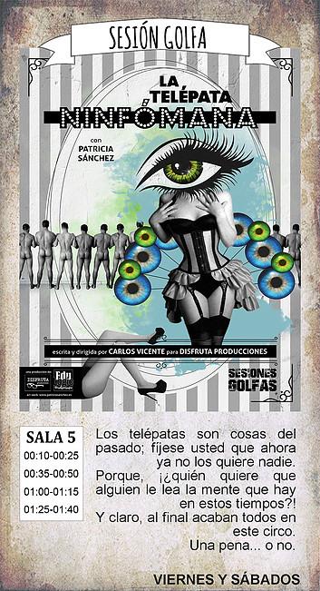 La Malhablada La telépata ninfómana Sesión Golfa Salamanca Noviembre 2018