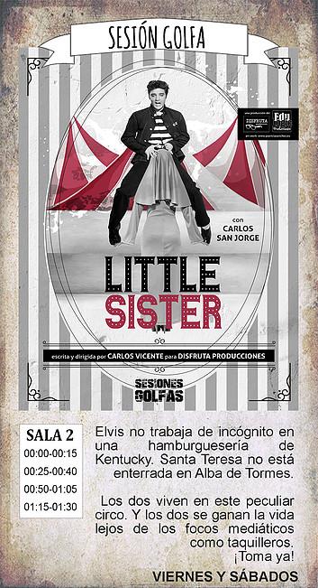 La Malhablada Little sister Sesión Golfa Salamanca Noviembre 2018