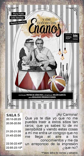 La Malhablada Y me crecen los enanos Salamanca Noviembre 2018