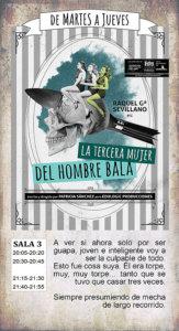 La Malhablada La tercera mujer del hombre bala Salamanca Noviembre 2018