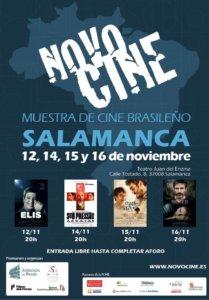 Aula Teatro Juan del Enzina XI Ciclo de Cine Brasileño Novocine Salamanca Noviembre 2018