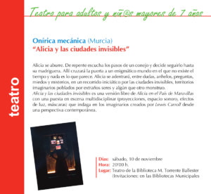 Torrente Ballester Onírica Mecánica Salamanca Noviembre 2018