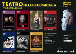 Cines Van Dyck Frankenstein Salamanca Noviembre 2018