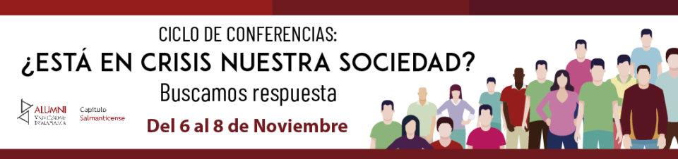 Teatro Liceo ¿Está en crisis nuestra sociedad Buscamos respuestas Salamanca Noviembre 2018
