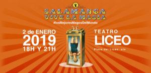 Teatro Liceo Salamanca vive la magia Enero 2019