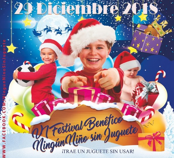 Casa de la Iglesia VI Festival Benéfico Ningún niño sin juguete Salamanca Diciembre 2018
