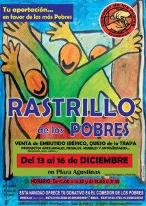 Plaza de las Agustinas Rastrillo de los Pobres Salamanca Navidad 2018