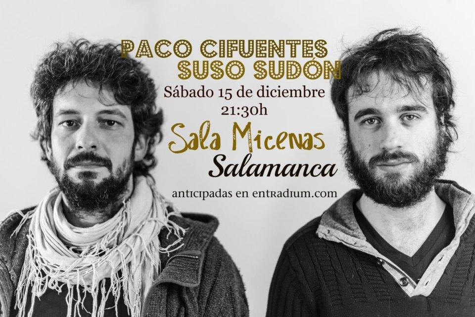 Sala Micenas Paco Cifuentes y Suso Sudón Salamanca Diciembre 2018