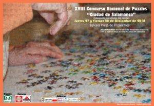 Iglesia Vieja XVIII Concurso Nacional de Puzzles Ciudad de Salamanca Asecal Diciembre 2018