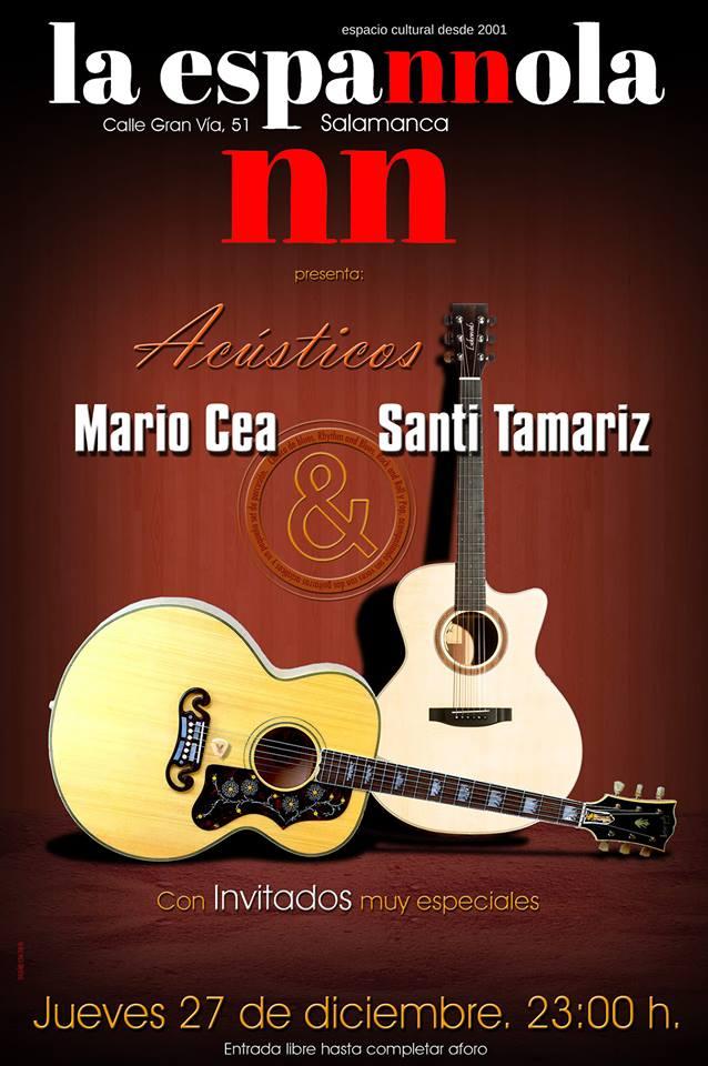 La Espannola Mario Cea & Santi Tamariz Salamanca Diciembre 2018
