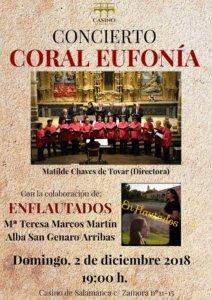 Casino de Salamanca Coral Eufonía Diciembre 2018