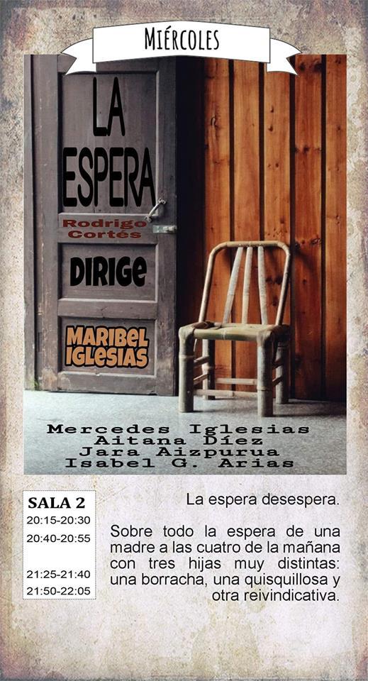 La Malhablada La espera Salamanca Diciembre 2018