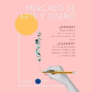 Espacio Nuca Mercado de Arte y Diseño Salamanca Diciembre 2018
