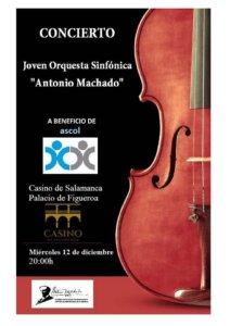 Casino de Salamanca Joven Orquesta Sinfónica Antonio Machado Diciembre 2018