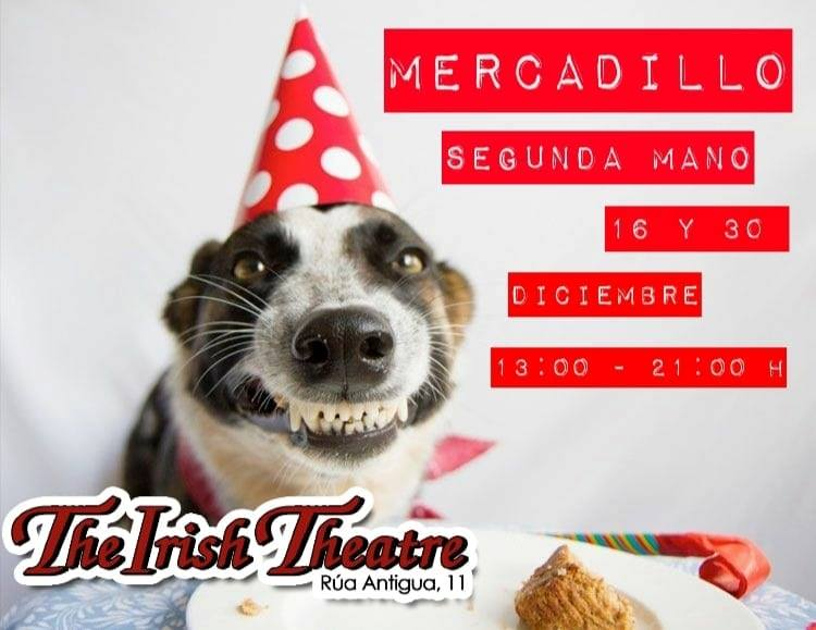 The Irish Theatre Mercadillo de Segunda Mano Salamanca Diciembre 2018