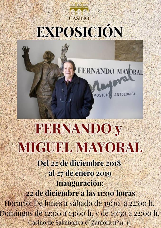 Casino de Salamanca Fernando y Miguel Mayoral Diciembre 2018 enero 2019