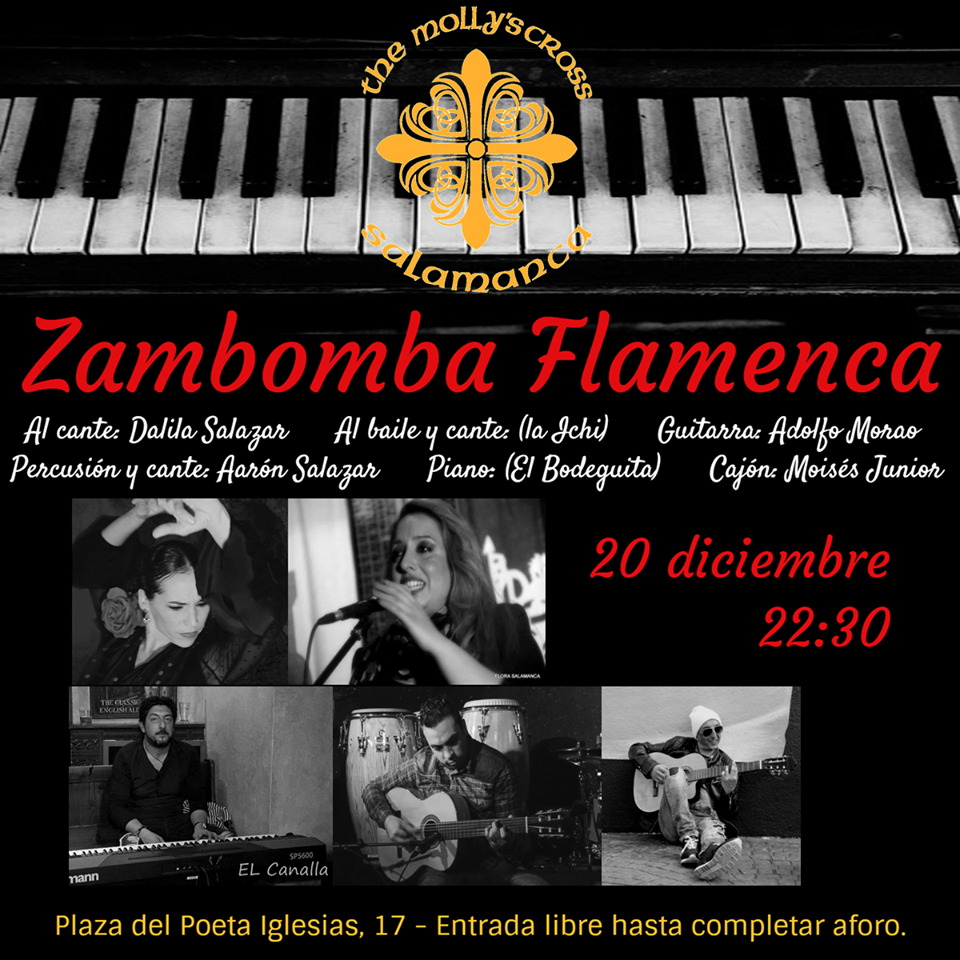 The Molly's Cross Zambomba Flamenca Salamanca Diciembre 2018