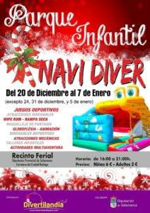 Recinto Ferial Parque Infantil Navidíver Salamanca Diciembre 2018 Enero 2019