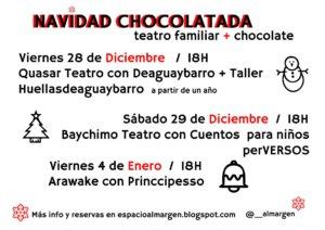 Espacio Almargen Navidad Chocolatada Salamanca Diciembre 2018 enero 2019
