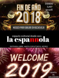 La Espannola Nochevieja Salamanca Enero 2019