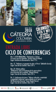 Colombia ayer y hoy. Una mirada desde la cultura y el patrimonio Salamanca 2018