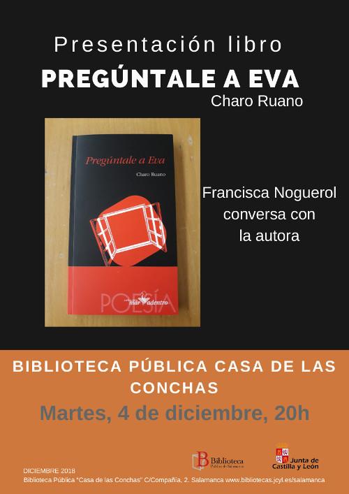 Casa de las Conchas Pregúntale a Eva Salamanca Diciembre 2018