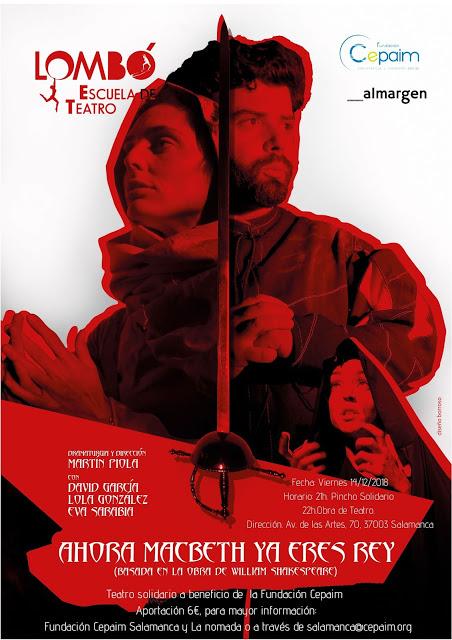 Espacio Almargen Lombo Teatro Salamanca Diciembre 2018