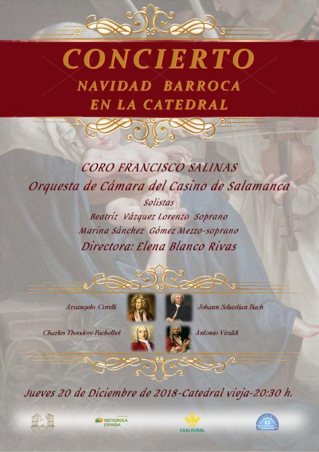Catedral Vieja Navidad Barroca en la Catedral Salamanca Diciembre 2018