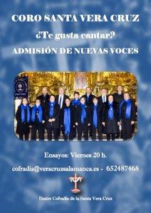 El Coro Santa Vera Cruz busca nuevas voces
