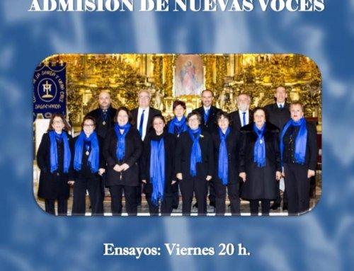 El Coro Santa Vera Cruz busca nuevas voces.