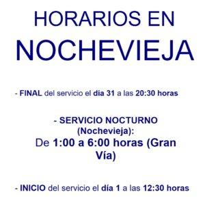 El servicio de transporte urbano de Salamanca para por Nochevieja 2018