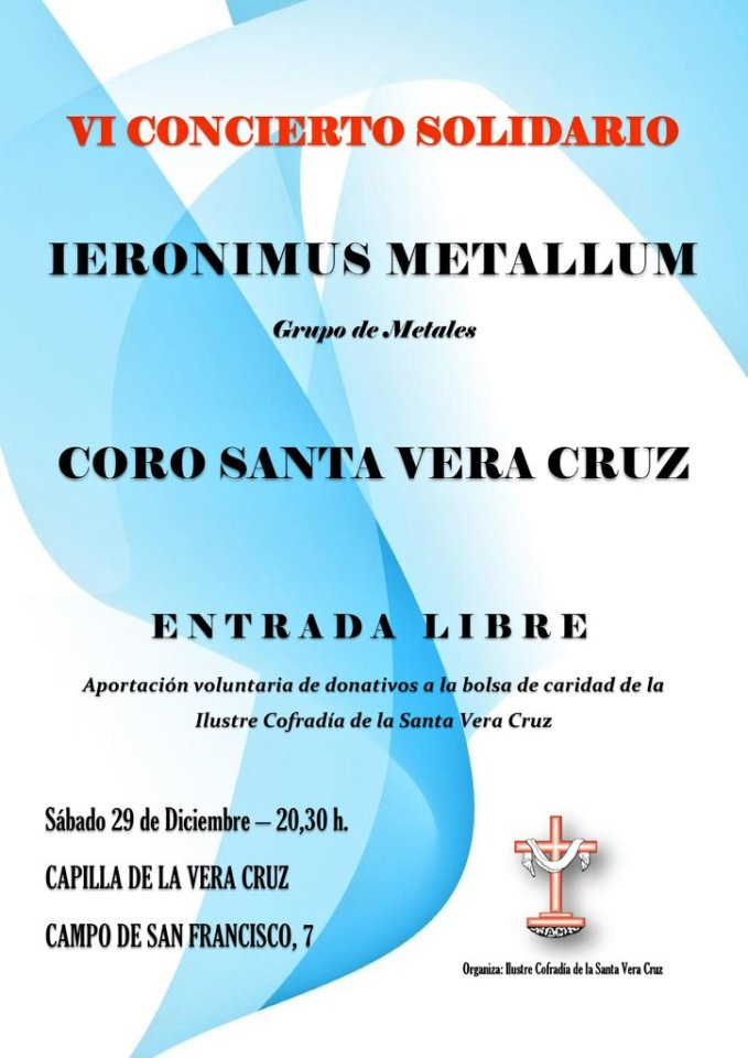 Capilla de la Vera Cruz VI Concierto Solidario Salamanca Diciembre 2018