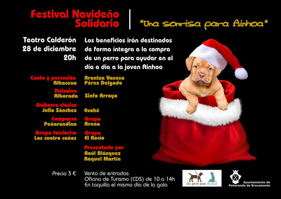 Teatro Calderón Festival Navideño Solidario Peñaranda de Bracamonte Diciembre 2018