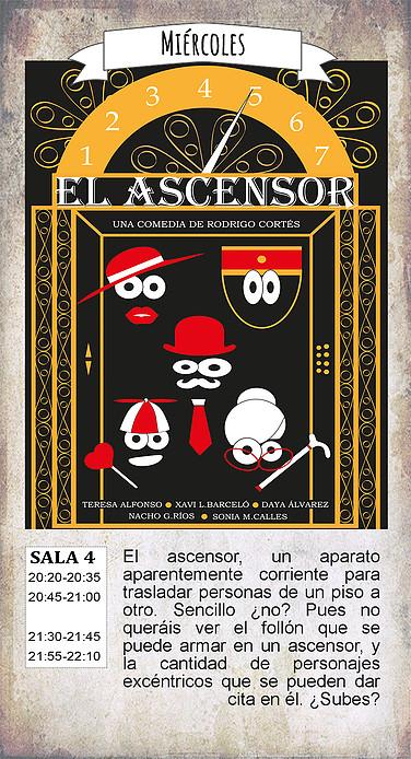 La Malhablada El ascensor Salamanca Diciembre 2018