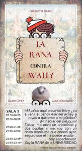 La Malhablada La Rana contra Wally Salamanca Diciembre 2018