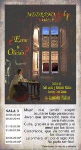 La Malhablada Luisa de Medrano Salamanca Diciembre 2018