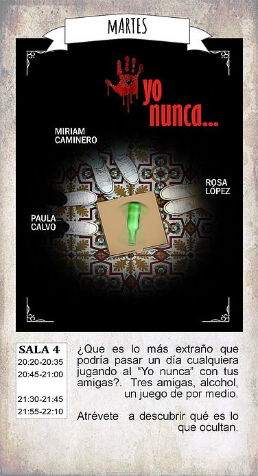 La Malhablada Yo nunca... Salamanca Diciembre 2018