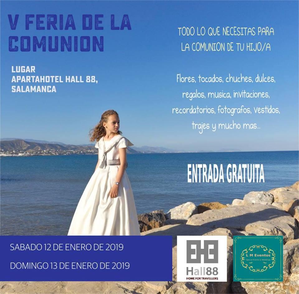 Hall 88 V Feria de la Comunión Salamanca Enero 2019