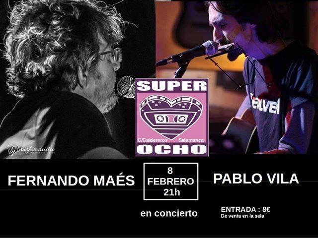 Super 8 Fernando Maés + Pablo Vila Salamanca Febrero 2019