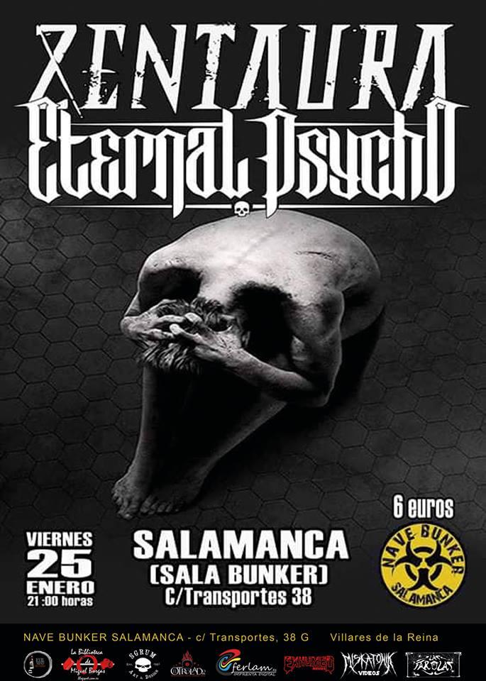 Nave Bunker Zentaura + Eternal Psycho Villares de la Reina Enero 2019